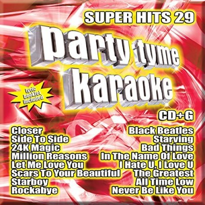 Party Tyme Karaoke Super Hits 29