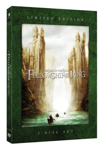 Lord Of The Rings Fellowship O Mortensen Tyler Monaghan Hawar Wood Mckellen Mortensen Astin Theatrical & Extended Pg13 2 DVD Lmtd Clr Ws