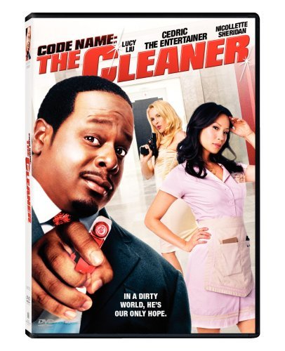 Code Name The Cleaner Cedric The Entertainer Liu She Clr Pg13