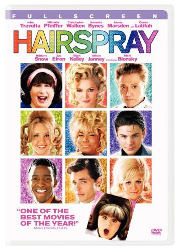 Hairspray (2007) Travolta Pfeiffer Walken Bynes Pg