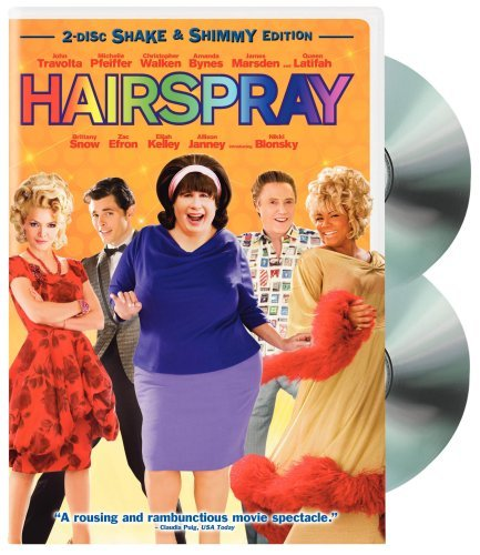 Hairspray (2007) Travolta Pfeiffer Walken Bynes Special Ed Shake Or Shimmy Pg 2 DVD
