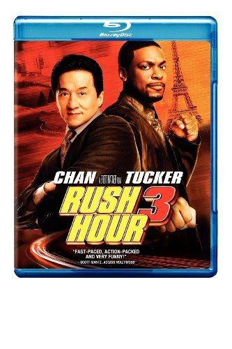 Rush Hour 3 Chan Tucker Blu Ray Ws Pg13