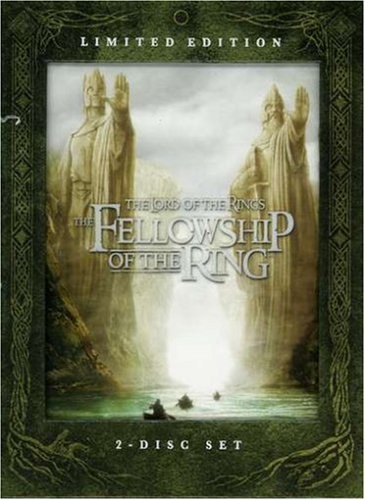 Lord Of The Rings Fellowship O Mortensen Tyler Monaghan Hawar Wood Mckellen Mortensen Astin Theatrical & Extended Nr Ltmd Ed. Ws