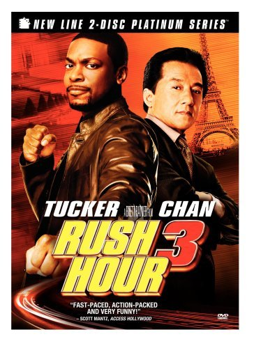 Rush Hour 3 Chan Tucker Ws Special Ed. Pg13 2 DVD