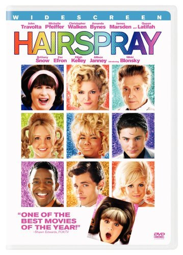 Hairspray (2007) Travolta Pfeiffer Walken Bynes Ws Pg