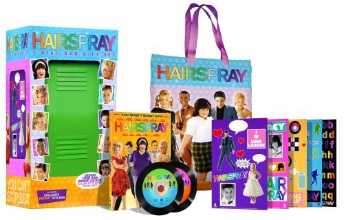 Hairspray (2007) Travolta Pfeiffer Walken Bynes Special Ed. W Tote & Locker Pg 2 DVD