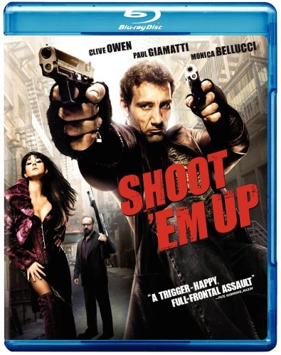 Shoot 'em Up Owen Giamatti Bellucci Blu Ray Ws Nr
