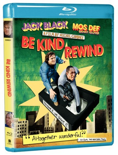 Be Kind Rewind Black Mos Def Glover Farrow Blu Ray Ws Pg 13