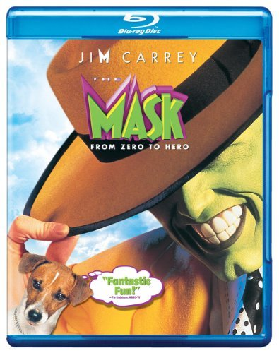 Mask Carrey Diaz Greene Riegert Yas Blu Ray Ws Pg13