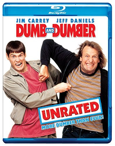 Dumb & Dumber Carrey Daniels Holly Garr Duff Blu Ray Ws Ur