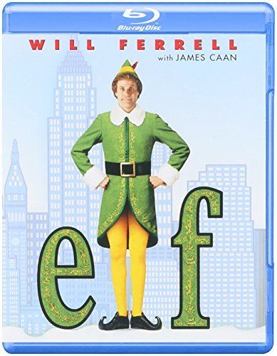 Elf Ferrell Love Richter Asner Blu Ray Ws Pg