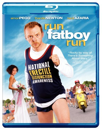 Run Fat Boy Run Pegg Newton Azaria Blu Ray Ws Pg13