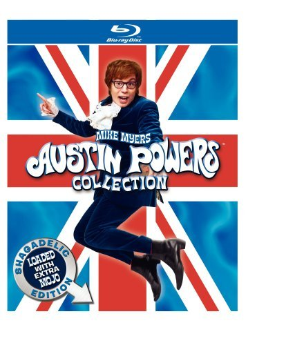 Austin Powers Collection Austin Powers Collection Blu Ray Ws Shagadelic Ed. Nr 3 Br