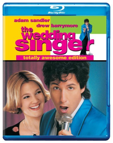 Wedding Singer Sandler Barrymore Taylor Cover Blu Ray Ws Totally Awesome Ed. Pg13