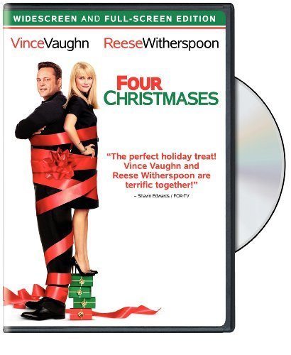 Four Christmases Vaughn Witherspoon Favreau Duv Ws Fs Pg13
