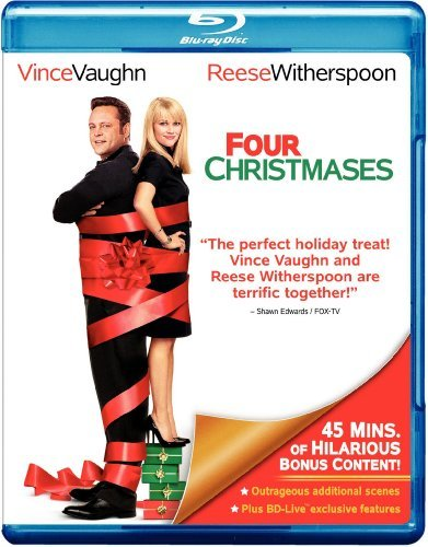 Four Christmases Vaughn Witherspoon Favreau Duv Blu Ray Ws Pg13