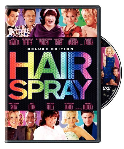Hairspray (2007) Deluxe Music Trovolta Queen Latifah Pfeiffe Ws Deluxe Ed. Pg