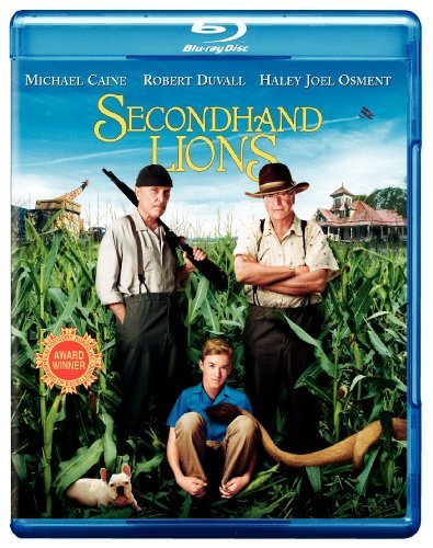 Secondhand Lions Caine Duvall Osment Sedgwick Blu Ray Ws Pg