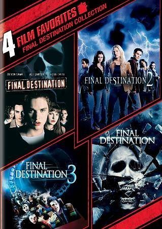 Final Destination 1 4 4 Film Favorites Nr 2 DVD