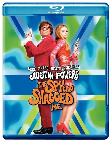 Austin Powers 2 Spy Who Shagge Myers Graham York Wagner Blu Ray Ws Pg13
