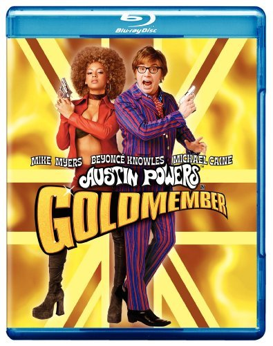 Austin Powers Goldmember Myers Knowles Caine Troyer Blu Ray Ws Pg13