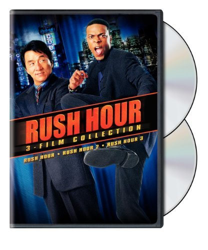 Rush Hour 1 3 Collection Chan Tucker Nr 3 DVD