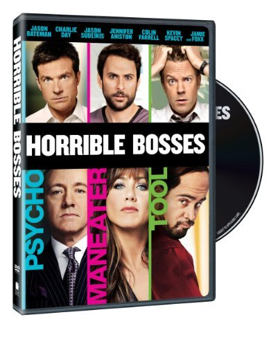 Horrible Bosses Aniston Foxx Bateman Farrell DVD R Ws