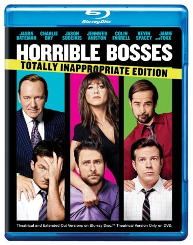 Horrible Bosses Aniston Foxx Bateman Farrell Blu Ray Ws Totally Inappropria R Incl. DVD Dc