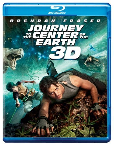 Journey To The Center Of The E Fraser Hutcherson Briem Blu Ray 3d Ws Pg Incl. Movie Money