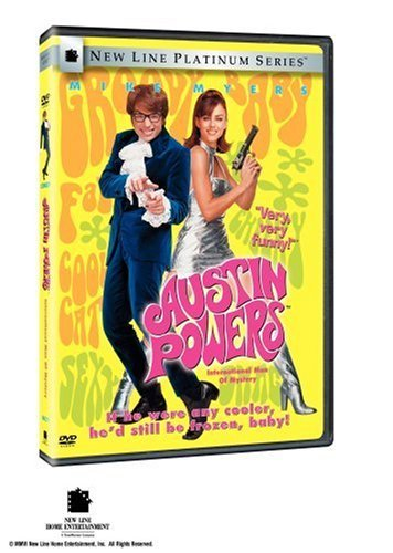 Austin Powers International Man Of Mystery Myers Hurley York Green Rogers DVD Pg13