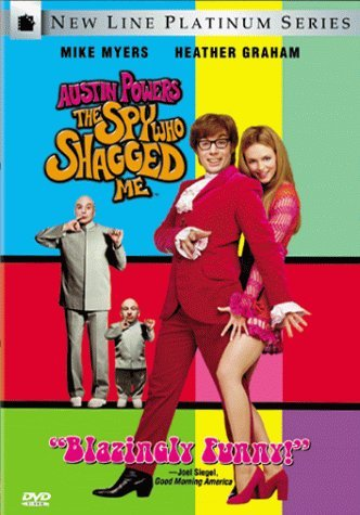 Austin Powers Spy Who Shagged Myers Graham Hurley Green DVD Pg13 Ws