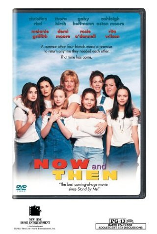 Now & Then O'donnell Griffith Moore Wilson DVD Pg13 Ws