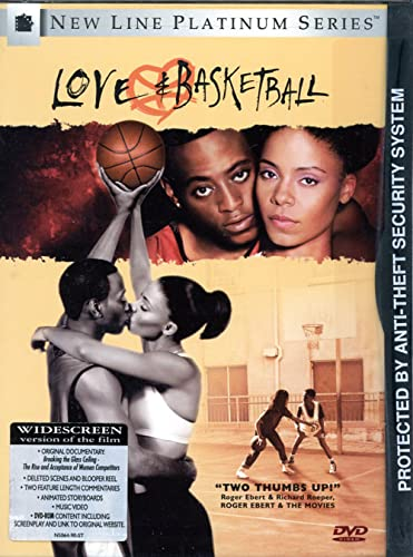Love & Basketball Epps Lathan Woodard Haysbert DVD Pg13 Ws