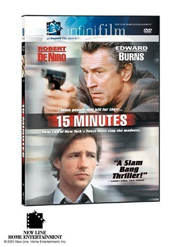 15 Minutes De Niro Burns Grammer Brooks DVD R Ws