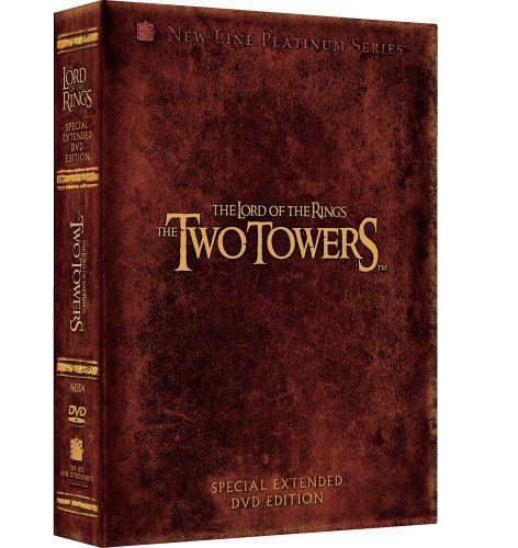 Lord Of The Rings Two Towers Wood Mckellen Mortensen Astin Pg13 Extended Ed
