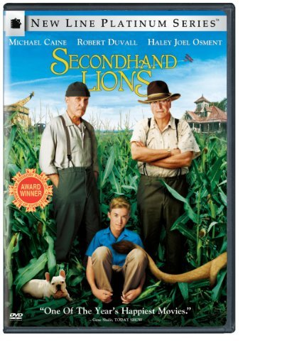 Secondhand Lions Caine Duvall Osment Sedgwick DVD Pg Ws