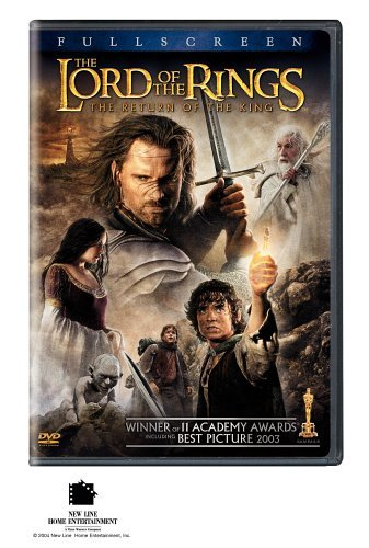 Lord Of The Rings Return Of The King Wood Mckellen Mortensen Astin Pg13 2 DVD