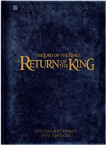 Lord Of The Rings Return Of The King Wood Mckellen Mortensen Astin Pg13 4 DVD