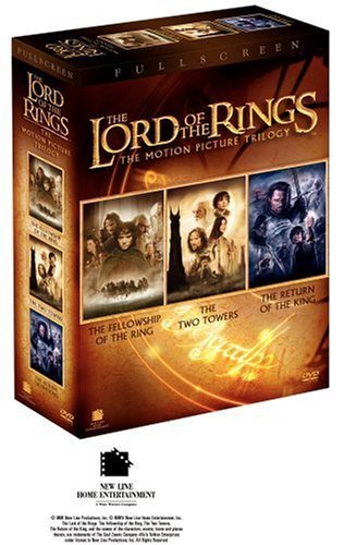 Lord Of The Rings Trilogy Theatrical Cut Pg13 3 DVD