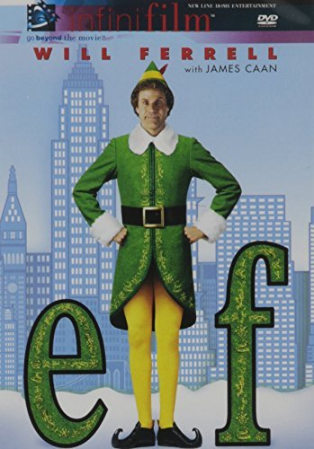 Elf Ferrell Love Richter Asner DVD Nr Ws