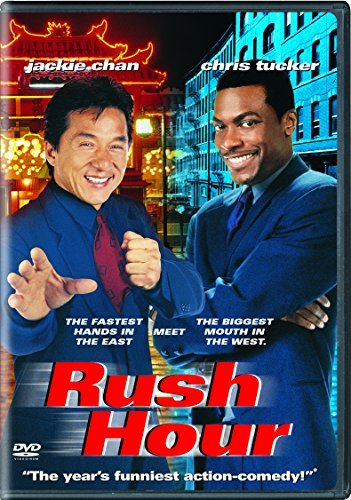 Rush Hour Chan Tucker Ma Hsu Hall Linn P DVD Pg13