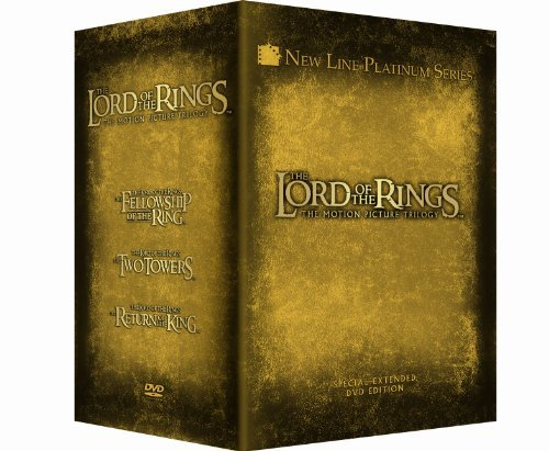 Lord Of The Rings Trilogy Wood Mckellen Mortensen Astin Nr 12 DVD