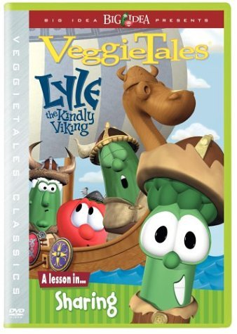Veggie Tales Lyle The Kindly Viking Clr Chnr
