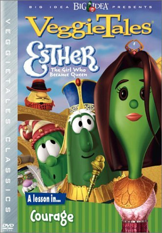 Veggie Tales Esther The Girl Who Became Que Clr Cc Snap Chnr