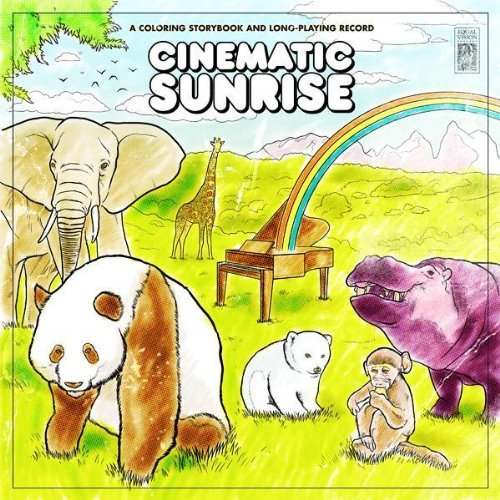 Cinematic Sunrise Coloring Storybook & Long Play