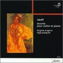 M. Ravel Violin & Piano Works Pasquier (vn) Engerer (pno)