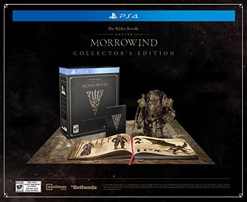 Ps4 Elder Scrolls Online Morrowind Collector's Edition