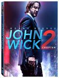 John Wick Chapter 2 Reeves Scamarcio Mcshane Rose Common Fishburne DVD R