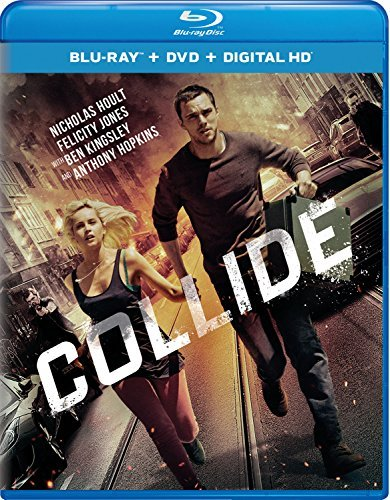 Collide Hoult Jones Hopkins Blu Ray DVD Dc Pg13