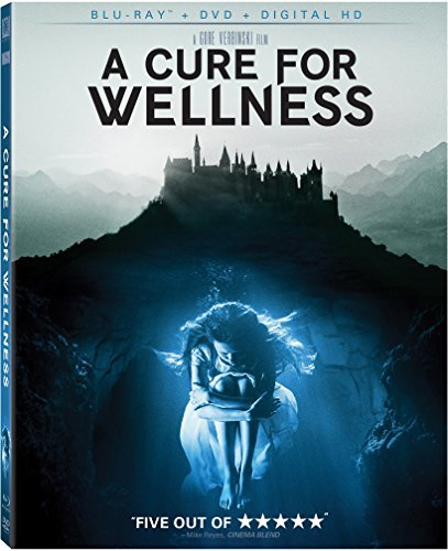 A Cure For Wellness Dehaan Isaacs Goth Blu Ray DVD Dc R